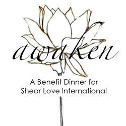 Shear Love Awaken Dinner